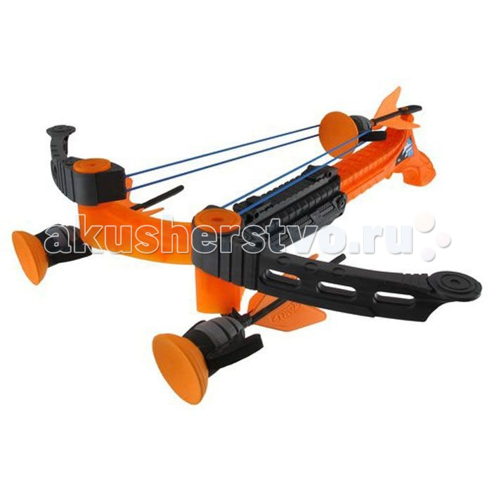 Zing Игрушечный Арбалет Ztek-Crossbow Воздушный штормИгрушечный Арбалет Ztek-Crossbow Воздушный штормАрбалет Воздушный шторм - настоящее оружие для самых маленьких стрелков. В комплект входят три стрелы с присосками, которые мощно прилипают к цели каждый раз, когда стрелок выстреливает из арбалета. Устройство достаточно мощное и прочное, поэтому у стрелка создастся впечатление того, что он пользуется настоящим оружием. Игра обязательно увлечет любого владельца и заставит его проникнуться азартным чувством. Однако не стоит забывать, что целиться по людям, животным или хрупким предметам запрещено, так как удар от стрелы может нанести травму.  В комплекте:   Арбалет; 3 стрелы с присосками.  Основные характеристики:   Дальность действия: 10-20 м Размер упаковки: 45 х 36 х 13 см Вес: 0,774 кг<br>