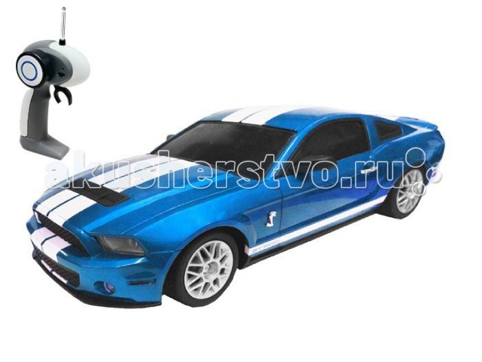 Auldey Машина на радиоуправлении Ford-Mustang Shelby 1:16Машина на радиоуправлении Ford-Mustang Shelby 1:16Auldey Машина на радиоуправлении Ford-Mustang Shelby 1:16  Радиоуправляемая машина Ford Mustang Shelby 1:16 - великолепная копия настоящего Ford Mustang. Полный радиоконтроль и управление с дистанционного пульта, радиус действия которого до 30 метров. Светятся задние и передние фары. Машина обладает усовершенствованной подвеской, отдельной на задние и передние колеса, что помогает легко преодолевать неровности дороги и имитировать маневры настоящего автомобиля. Кроме того, это гоночное авто может развивать скорость – 9 км/ч, а в турборежиме до 11 км/ч. Радиоуправляемая машина развивает у ребенка координацию движений, ловкость, моторику и воображение.  Возраст: от 8 лет Масштаб: 1:16. Комплект: машина, пульт. Наличие батареек: не входят в комплект. Тип батареек: 6 x AA / LR6 1.5 V (пальчиковые). Дальность действия: 30 м.<br>