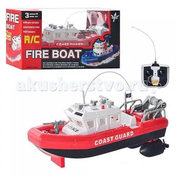 1 Toy Пожарный катер на радиоуправлении Coast Guard 25 смПожарный катер на радиоуправлении Coast Guard 25 см1 Toy Пожарный катер на радиоуправлении Coast Guard 25 см Т58529  Отлично детализированный патрульный катер, выполненный в масштабе 1:18. Катер может свободно плавать вперёд, назад и поворачивать влево и вправо. Модель прекрасно подходит для патрулирования прибрежных зон озёр и прудов. А современный яркий дизайн корпуса из прочного пластика привлечёт к себе немало восхищенных взглядов.  Игрушка предназначена для сюжетно-ролевых игр, способствует развитию воображения, познавательного мышления и моторики.  Комплект: катер, пульт управления. Размер игрушки: 24 х 10 х 8 см.<br>