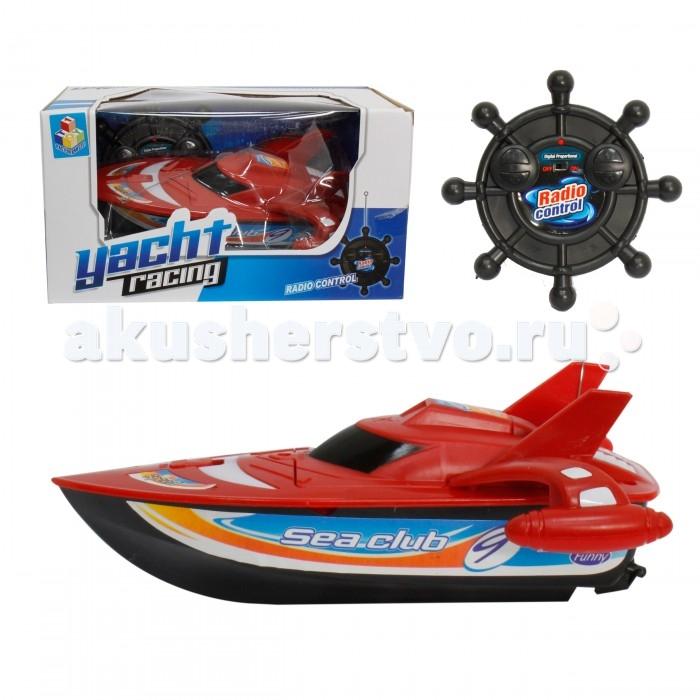 1 Toy Лодка скоростная на радиоуправлении Yacht Racing 28 смЛодка скоростная на радиоуправлении Yacht Racing 28 см1 Toy Лодка скоростная на радиоуправлении Yacht Racing 28 см Т58531  Радиоуправляемая лодка Yacht Racing поможет разнообразить летние игры в бассейне скоростными гоночными соревнованиями на воде. Лодка изготовлена из пластика и максимально дублирует вид скоростной яхты.  В комплекте к ней также можно найти пульт радиоуправления в форме руля, при помощи которого игрушкой можно управлять дистанционно. Питание лодки осуществляется при наличии 5 батареек, которые можно приобрести в любом хозяйственном магазине. Такая развлекательная игрушка привлечет внимание детей и поможет весело провести время.  Комплект: лодка, пульт управления. Длина лодки: 28 см.<br>