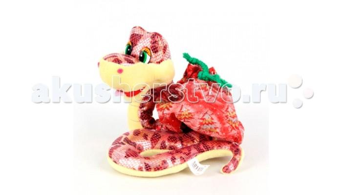 Мягкая игрушка Sonata Style Змейка с мешком для подарка 20 см