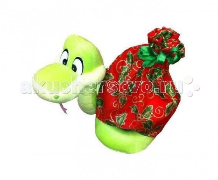 Мягкая игрушка Sonata Style Змейка с мешком для подарка 22 смЗмейка с мешком для подарка 22 смМягкая игрушка Sonata Style Змейка с мешком для подарка 22 см очень хочет найти себе друга.  Особенности: Она изготовлена из качественных материалов, которые абсолютно безвредны для ребенка.  Плюшевая змейка обязательно понравится вашему малышу. Игрушка способствует развитию воображения и тактильной чувствительности у детей.<br>