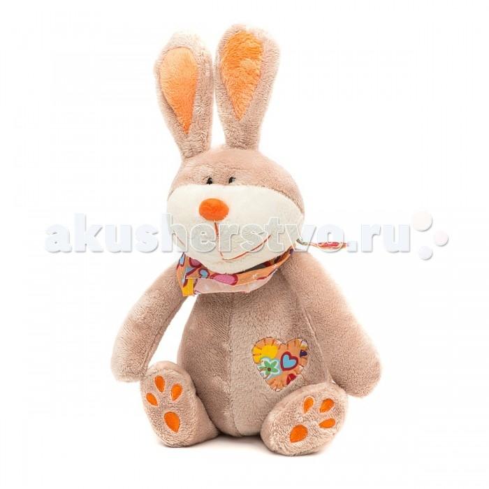 Мягкая игрушка Sonata Style Кролик с платком 22 см