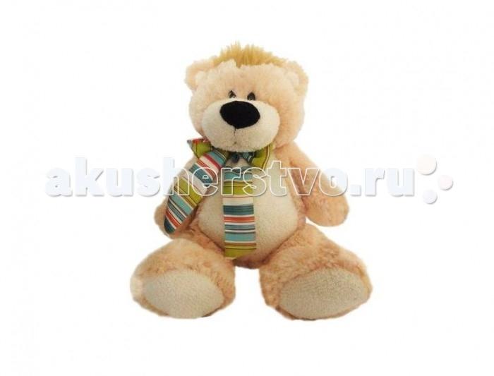 Мягкая игрушка Sonata Style Медведь с шарфиком 28 смМедведь с шарфиком 28 смМягкая игрушка Sonata Style Медведь с шарфиком 28 см станет отличным другом и партнером по играм.  Особенности: Она изготовлена из качественных материалов, абсолютно безвредных для ребенка. Медвежонок обязательно понравится вашему малышу.  Данная модель способствует развитию воображения и тактильной чувствительности у детей.<br>