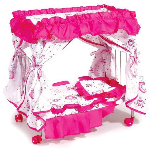 Кроватка для куклы Melobo с балдахином 9350 от Акушерство