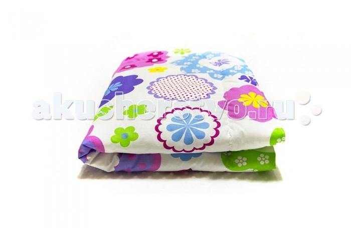 Плед ByTwinz с одеялом Цветы 75х100 см