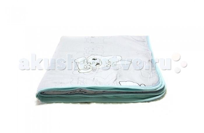 Плед ByTwinz с одеялом Зайцы 75х100 см