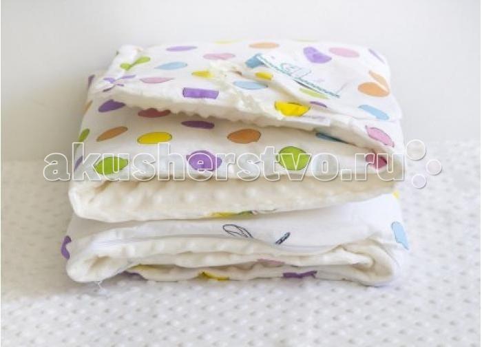 Плед ByTwinz с одеялом Бабочки 75х100 см