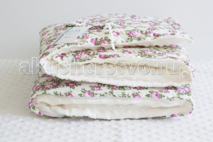 Плед ByTwinz с одеялом Шебби 75х100 см