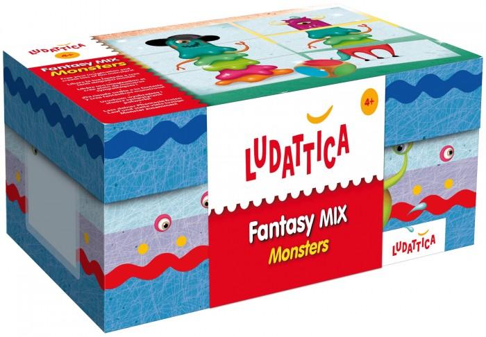 Ludattica Игра настольная Монстр Микс 52356Игра настольная Монстр Микс 52356Ludattica Игра настольная Монстр Микс 52356. Игра на комбинирование различных элементов и создание новых образов забавных инопланетных монстров. Игра стимулирует логику, любопытство и наблюдательность.  Состав набора: 16 фигурок монстров, составленных из 3-х частей, цветной игральный кубик.  Продукт разработан в Италии, в Центре Исследований и Разработки Lisciani.  Иллюстратор Елена Преттэ (Elena Prette)<br>