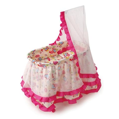 Кроватка для куклы Melobo с балдахином 9376 от Акушерство