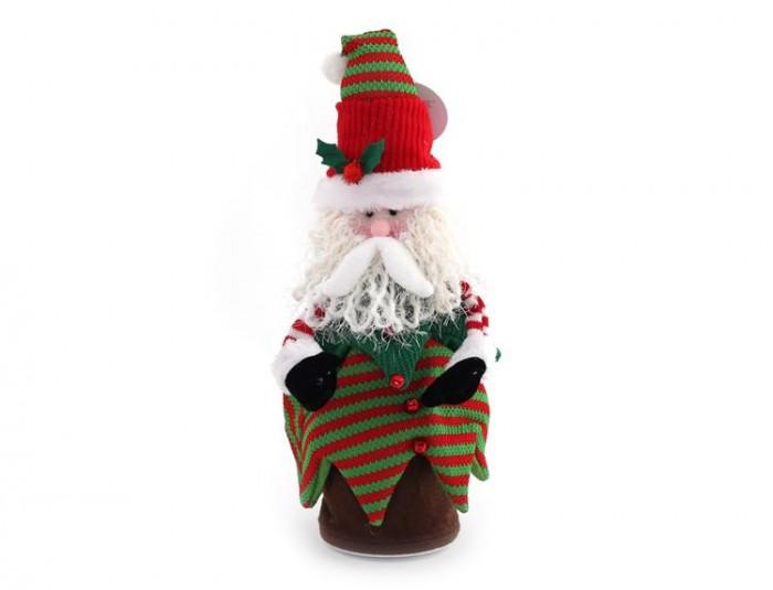 Северное сияние Танцующий гном 30 смТанцующий гном 30 смСеверное сияние Танцующий гном представляет собой новогоднюю игрушку в виде забавного седовласого старичка, одетого в яркую одежду.  Особенности: Старый сказочный гном выглядит удивительно мило.<br>