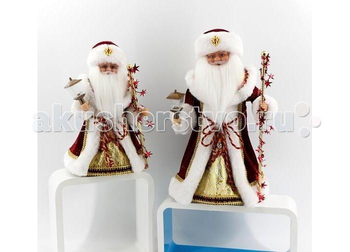 Северное сияние Дед Мороз музыкальный (танцует и поет) 40 см