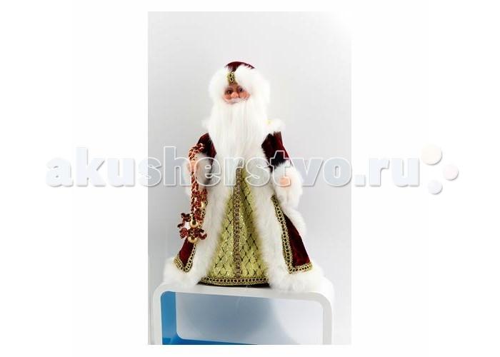Северное сияние Дед Мороз музыкальный (танцует и поет) IT101366 30 см