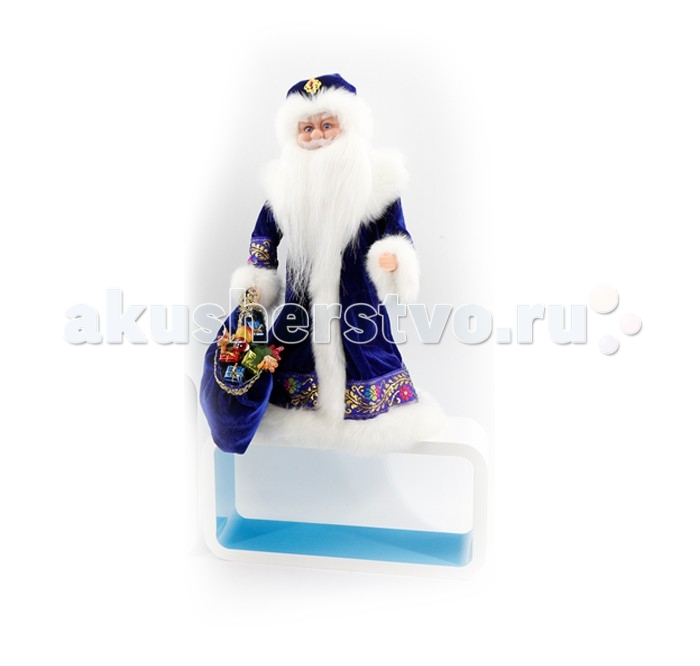 Северное сияние Дед Мороз музыкальный (танцует и поет) IT101369 40 см