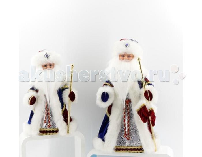 Северное сияние Дед Мороз музыкальный (танцует и поет) IT101370 30 см