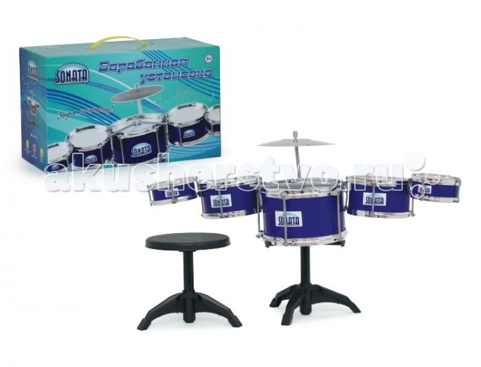 Музыкальная игрушка Sonata Барабанная установка 5 барабанов в комплекте IT100136