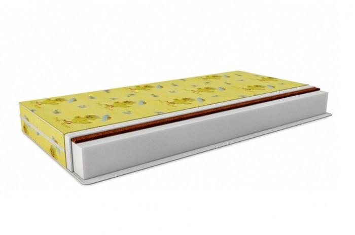 Матрас Татами Кокос-стандарт Холлкон (бязь) 140х60 смКокос-стандарт Холлкон (бязь) 140х60 смМатрас Татами Кокос-стандарт Холлкон   Особенности: Жесткость: одна сторона мягкая,вторая жесткая, размер спального места 140х60 см.  Изделие выполнено из би-кокоса, внутри матраса расположен холлкон высотой 8 см.  Благодаря ортопедическому эффекту, нагрузка от веса человека распределяется по всему матрасу.  Чехол изделия выполнен из 100% микрофибры.  Высота изделия 12 см.  При правильной эксплуатации матрас прослужит более 7 лет, в течении которых он не потеряет правильной анатомической формы.  Изделие выполнено из высококачественных гипоаллергенных материалов. Ортопедический матрас изготовлен в России по новейшим передовым технологиям.   Состав:  Съемный чехол на молнии из 100% хлопка.  Холлкон 1200г/м2  плотностью 1200, бикокос 1 см., слои соединены синтепоном.<br>
