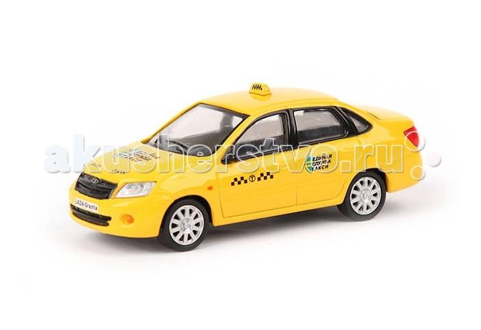 Carline Машина инерционная 1:43 Lada Granta Такси