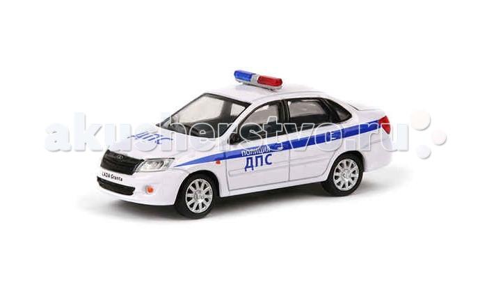 Carline Машина инерционная 1:43 Lada Granta ДПС