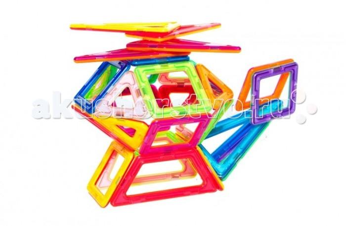Конструктор МагМастер Набор Эксперт 60 деталейНабор Эксперт 60 деталейНабор МагМастер Эксперт, 60 деталей.  Эсперт в наборах МагМастер - самый наполненный по разнообразию деталек, с помощью этого набора можно строить, творить, создавать, учиться и познавать возможности конструктора.  Игра с детальками МагМастера помогает решать важные задачи развития и обучения ребенка: Внимательность и память Творческое мышление и воображение Логическое мышление и подготовка к изучению математики Моторика пальчиков и развитие речи Зрение и эстетическое развитие Координация движений и самостоятельность Наблюдательность и точность. Изобретательность и побуждение к размышлению Развитие произвольного внимания и усидчивости Развитие художественных способностей Развитие пространственно-архитектурных способностей Развитие чувства пропорции и симметрии Развитие способности к моделированию Чувство уверенности в себе Радость от познания мира и творчества Антистресс при нагрузках современных детей. Комплект: 12 треугольников, 20 квадратов, 12 высоких треугольников, 6 ромбов, 4 трапеции, 6 прямоугольников.<br>
