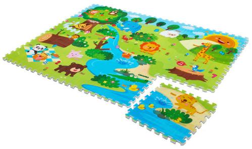 Игровой коврик Mambobaby Животный мир 70009