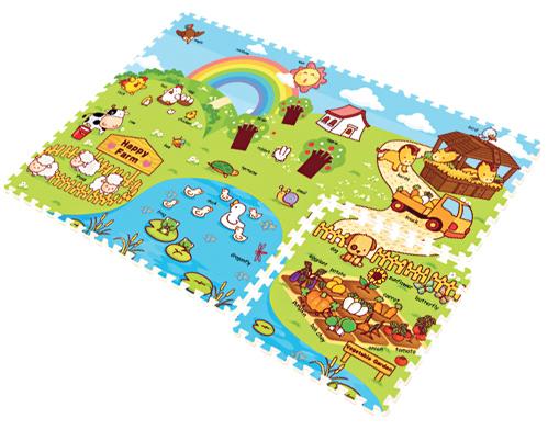 Игровой коврик Mambobaby Ферма 70001