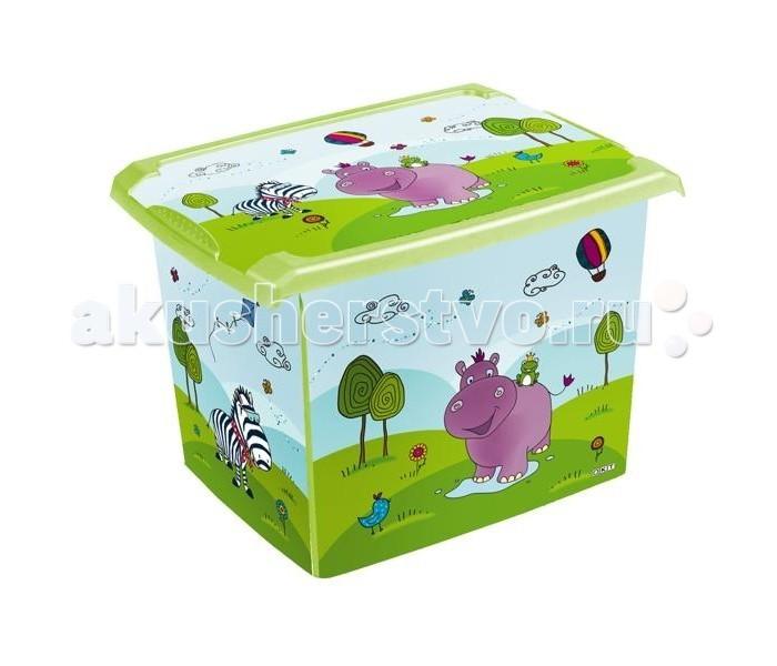 OKT Ящик Бегемотик 20.5 лЯщик Бегемотик 20.5 лХотите приучить ребенка к порядку, но не знаете с чего начать? В таком случае обязательно купите малышу этот ящик для игрушек. Кроха с удовольствием будет складывать любимые игрушки в него. Изготовлен из высококачественного экологически чистого пластика.  Размер, см: 39 х 29 х 27<br>