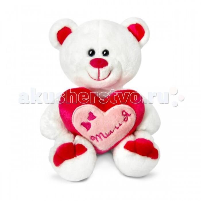 Мягкая игрушка Lava Медведь Амурчик с сердечкомМедведь Амурчик с сердечкомLava Медведь Амурчик с сердечком, музыкальный чип, 18 см плюшевый медведь Амурчик, держит сердечко, на котором написана фраза Ты и Я и все это объеденено еще одним сердечком, что символизирует обоюдные чувства. Это очень мило.   Мягкая игрушка Амурчик с сердцем, выполнена в виде белого медведя, который улыбается Вам и поможет завоевать расположение девушки или стать прекрасным подарком для Вашей доченьки. С ним можно играться или просто любоваться и вспоминать приятные моменты. Также мишка Амурчик, сыграет Вам романтическую мелодию.  Приятная на ощупь игрушка имеет белый мягкий плюшевый ворс. Игрушка выполнена из высококачественных и экологичных материалов.Легко стирается и при этом не потеряет свой симпатичный внешний вид.   Этот замечательный медвежонок будет отлично смотреться в детской комнате.<br>