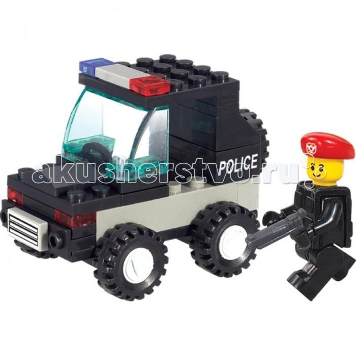 Конструктор Sluban Вооруженные силы Полицейская машина 45 деталей