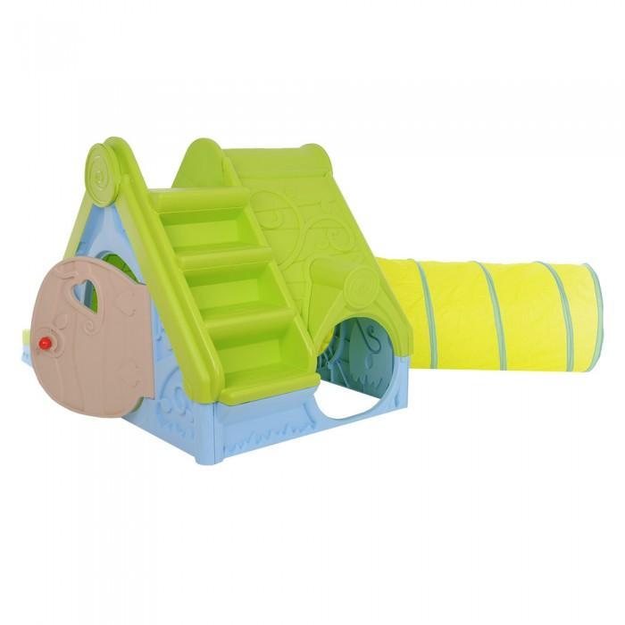 Домик с горкой для ребенка 32