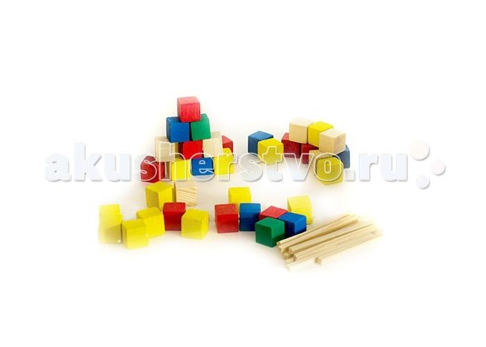 Анданте Развивающий набор счетный материал 100 шт.Развивающий набор счетный материал 100 шт.Развивающий набор Анданте Счетный материал состоит из разноцветных кубиков и деревянных палочек.   Он поможет рассказать о цифрах и их значении, разобраться в понятиях больше и меньше. Складывая или вычитая палочки и кубики, можно визуально объяснить ребенку простые примеры сложения и вычитания. Обучать ребенка цифрам и базовым знаниям математики с таким набором будет удобно и интересно.   В наборе:    палочки 40 шт.  кубики 60 шт.  пластиковый контейнер с ручкой<br>