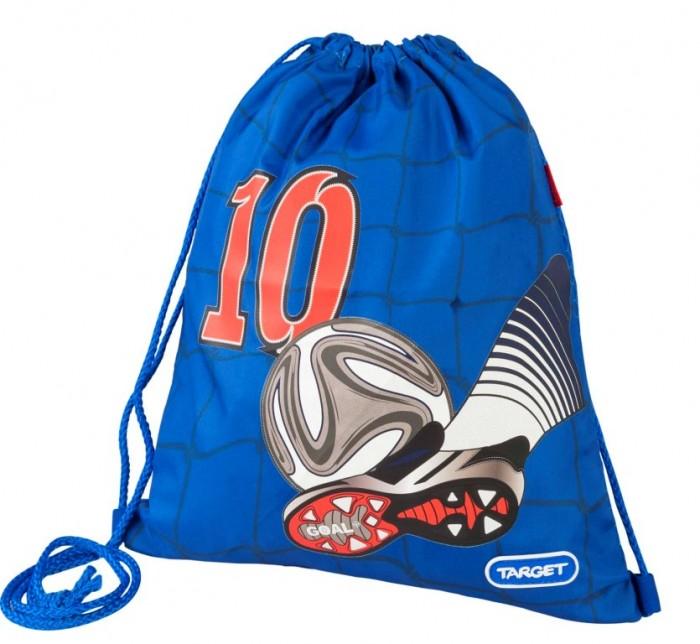 Target Collection Сумка для детской сменной обуви Улётный футболСумка для детской сменной обуви Улётный футболСумка для переноски детской обуви, выполнена из плотного водостойкого материала, затягивается сверху шнурком и носится, как рюкзак.   Основные характеристики:   Размер упаковки: 38 x 32 x 2 см Вес: 0,1 кг<br>