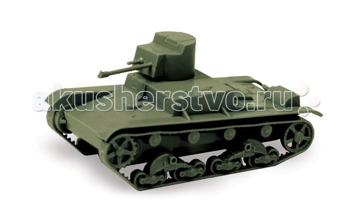 Конструктор Звезда Советский огнеметный танк ОТ-26 (XT-26) 1:100 7 элементов