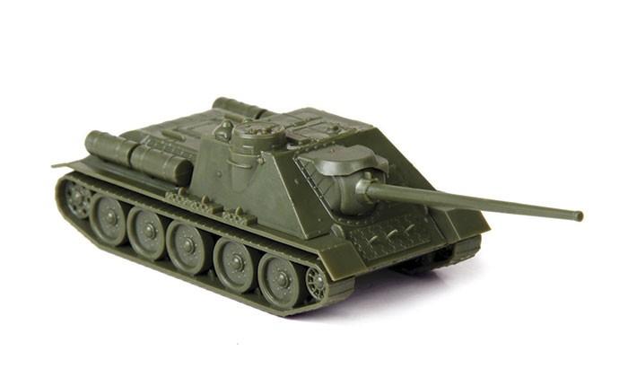 Конструктор Звезда Советский истребитель танков СУ-100 1:100