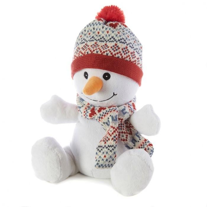Warmies Cozy Plush Игрушка-грелка СнеговикCozy Plush Игрушка-грелка СнеговикWarmies Игрушка-грелка Снеговик.  Игрушка специально сделана из безопасных материалов для микроволновой печи и содержит небольшую начинку в себе, что позволяет разогревать ее неограниченное число раз.  Горячий друг пригодится в холодные ночи, когда болит живот или просто, когда Вы захотите прижаться к теплой мягкой любимой игрушке. Через пару минут в микроволновке, в зависимости от мощности игрушка будет дарить Вам тепло несколько часов. Пропитаны маслом лаванды, чтобы Вы могли наслаждаться успокаивающим эффектом ароматерапии. Просто добавьте несколько капель, чтобы обновить прекрасный аромат, когда это потребуется.<br>