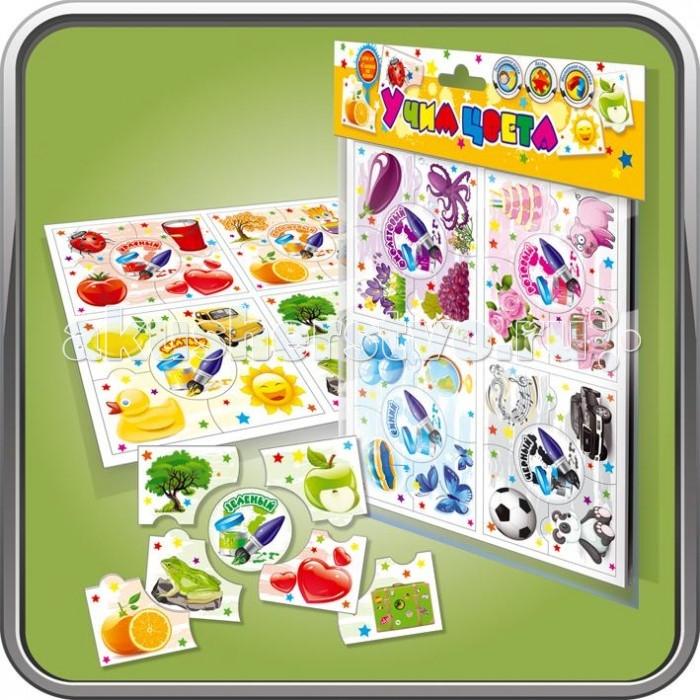Оптима Пак Детская игра на магнитах Учим формы