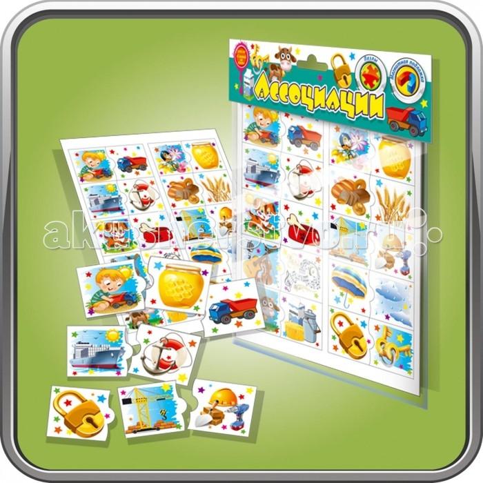Оптима Пак Детская игра на магнитах Ассоциации
