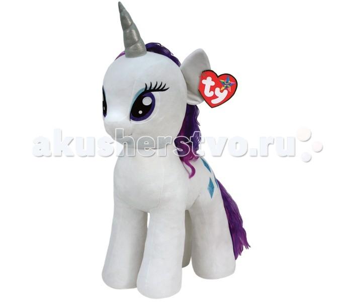 Мягкая игрушка My Little Pony Пони Rarity 76 смПони Rarity 76 смПони Rarity 76 см - очаровательная мягкая игрушка из новой коллекции My little Pony. Ваш ребенок обязательно подружится с таким красивым белым единорогом.   Игрушка мягкая и приятная на ощупь, большие красивые глаза и знак отличия вышиты, грива красивая и очень гладкая.   Красавица единорог Рэрити — отчаянная модница и талантливый дизайнер. У нее ранимый и чувствительный характер и она лучше всех остальных пони разбирается в вопросах красоты. Рэрити владеет магией, которая помогает ей в ее творчестве.  Пони Rarity 76 см станет не просто игрушкой, но и милым дополнением к декору любой детской комнаты.<br>