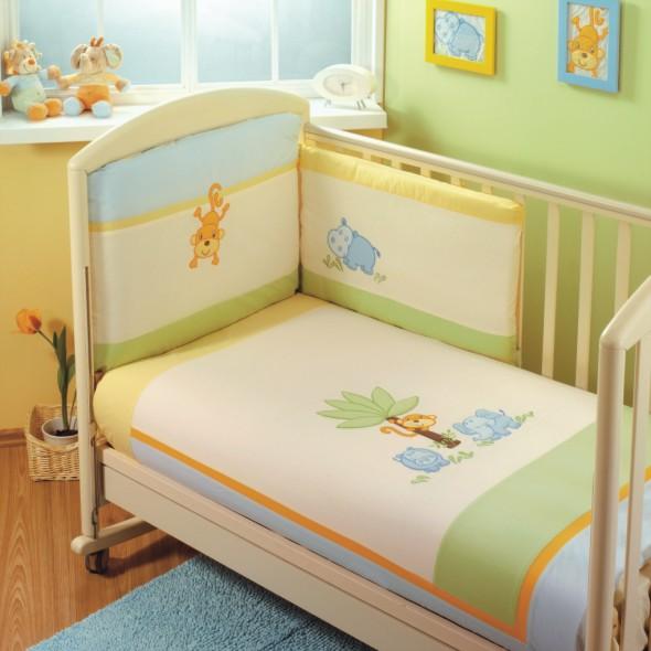 Комплект для кроватки Feretti Jungle Sestetto (6 предметов)