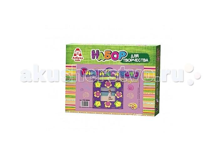 Азбука Тойз Рамка-шнуровка для фото Цветочки