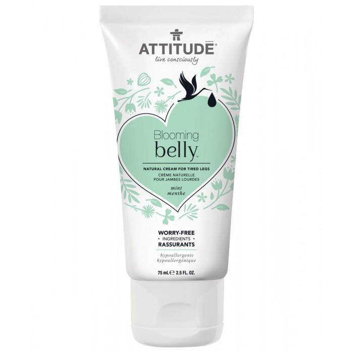 Attitude Натуральный крем для усталых ног Blooming Belly - Мята 75 мл