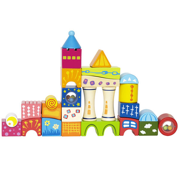 Деревянная игрушка Hape Конструктор Замок Е0418
