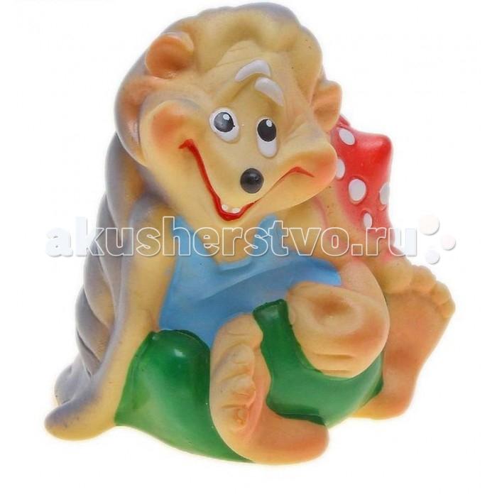 Воронежская игрушка Игрушка для ванны Добрый Еж 10 смИгрушка для ванны Добрый Еж 10 смВоронежская игрушка Игрушка для ванны Добрый Еж 10 см обязательно понравится малышам.  Особенности: Игрушку можно брать с собой на прогулку, купаться с ней, а можно просто играть, придумывая разные интересные сюжеты.  Игрушка изготовлена из качественной долговечной резины и окрашена безопасными для ребенка красками. Развивают координацию движений.  Знакомит малыша с окружающим миром.  Мягкая на ощупь.<br>