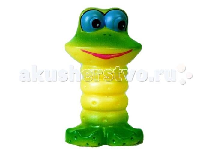 Воронежская игрушка Игрушка для ванны Лягушонок 8 смИгрушка для ванны Лягушонок 8 смВоронежская игрушка Игрушка для ванны Лягушонок 8 см обязательно понравится малышам.  Очаровательный зеленый лягушонок с большими глазами покоряет с первого взгляда.  Особенности: Игрушку можно брать с собой на прогулку, купаться с ней, а можно просто играть, придумывая разные интересные сюжеты.  Игрушка изготовлена из качественной долговечной резины и окрашена безопасными для ребенка красками. Благодаря встроенной свистульке, игрушка может издавать громкий звук. Этот звук заинтересует маленького ребенка и отвлечет его от плача.  Развивают координацию движений.  Знакомит малыша с окружающим миром.  Мягкая на ощупь.<br>