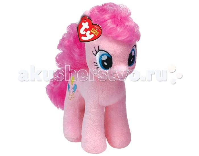 Мягкая игрушка My Little Pony Пони Pinkie Pie 28 смПони Pinkie Pie 28 смПони Pinkie Pie 28 см - очаровательная мягкая игрушка из коллекции My little Pony. С Pinkie Pie невозможно не подружиться: она красива, жизнерадостна и добра.  Пинки Пай или Пинкамина Диана Пай — это очередной персонаж из любимого детьми мультсериала под названием «Мои Маленькие Пони». На этот раз ваша малышка сможет стать обладательницей прекрасной героини, которая живет в «Сахарном Дворце» и работает кондитером. Ее шерстка нежно-розового цвета, а грива имеет ярко-розовые тона. Пинки Пай — самая настоящая любительница приключений и всегда готова отправиться в путь со своими дорогими друзьями.  Игрушка мягкая и приятная на ощупь. На шкурке мягкой игрушки вышиты разноцветные воздушные шарики.   Из чего сделана игрушка (состав): ткань, пластик, искусственный мех, синтепон. Размер самой игрушки (длн-шрн-вст): высота - 28 см.<br>