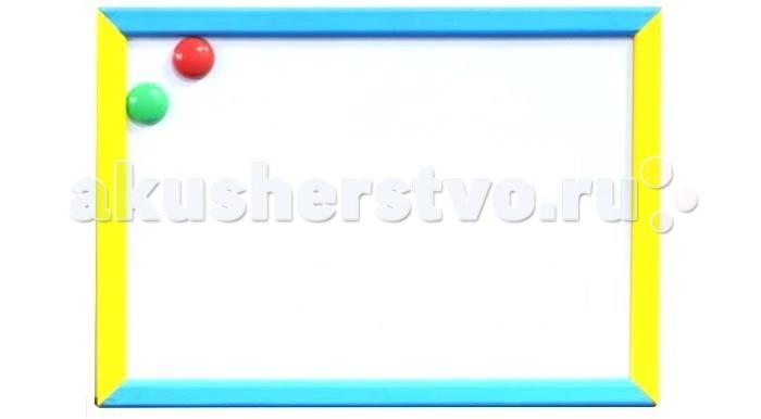 Анданте Доска магнитно-маркерная-меловая двухсторонняя 30 х 40 смДоска магнитно-маркерная-меловая двухсторонняя 30 х 40 смДоска Анданте магнитно-маркерная-меловая двухсторонняя   На ее поверхности можно писать маркерами, фломастерами или мелом, стирая не нужное одним движением губки.   Одна из сторон доски имеет магнитную основу, притягивающую буквы и цифры из комплекта. Другая сторона выполнена из дерева, поэтому она подойдет для мела.  Размер доски: 30 х 40 см<br>