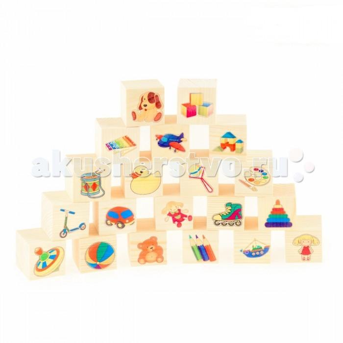 Деревянная игрушка Анданте Набор кубиков Игрушки