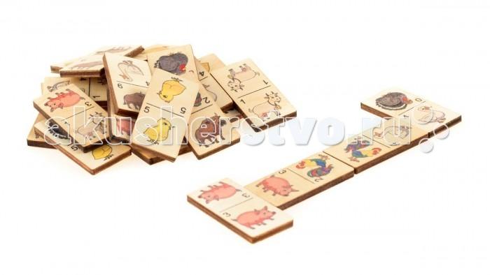 Деревянная игрушка Анданте Домино Ферма