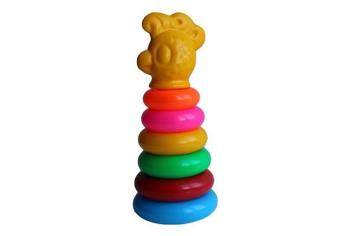 Развивающая игрушка Спектр Игра Пирамида зоопарк Попугай